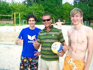 Beachvolleyball in Berlin